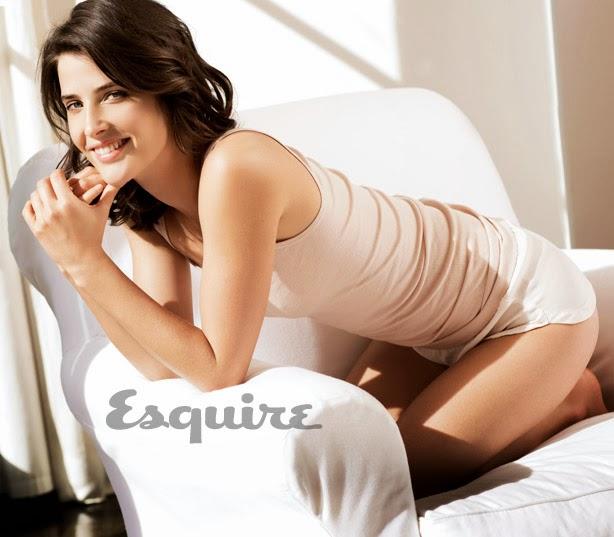 Cobie Smulders posa sexy para Squire