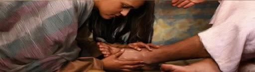 Ven, pecador, a los pies de Cristo