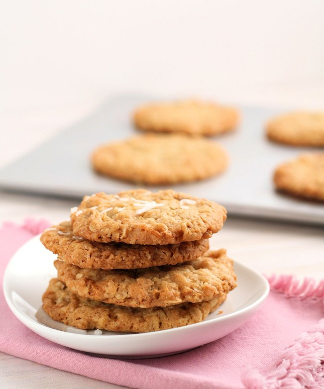 The best oatmeal cookies...you'll love them, even if you're not usually a fan of crispy!