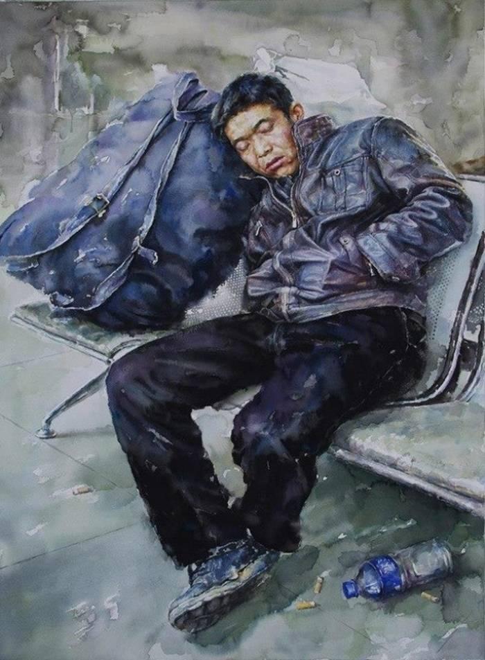 """Zhang Yang «Waiting»."""""""