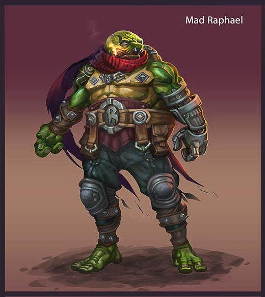Mad Raph por Niconoff
