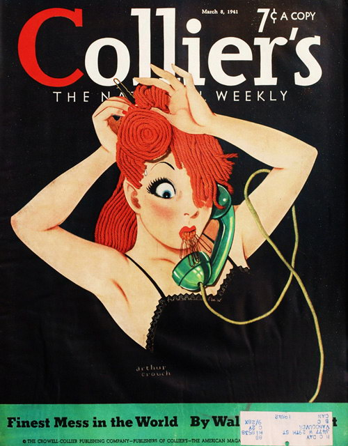 Vintage Cartoon Magazine Covers