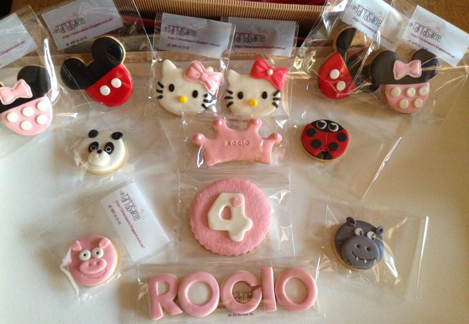 galletas decoradas, galletas fondant
