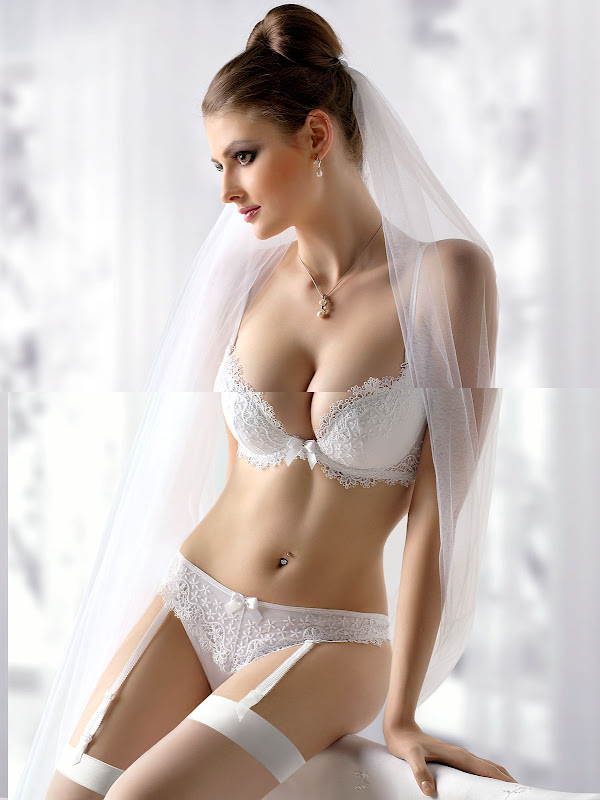 Lingerie Models Bridal Lingerie From Polish Manufacturer