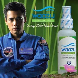 Waazu - Sanitizer Halal Pertama Malaysia