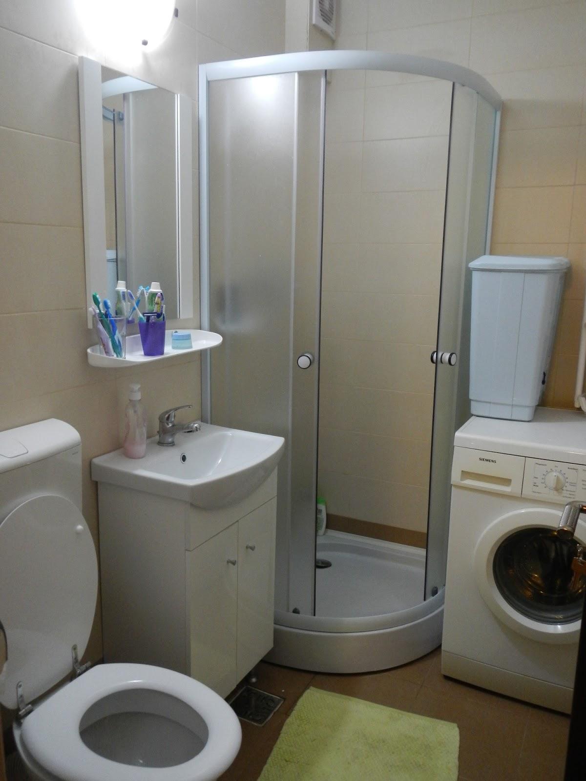 Grila design amenajare baie apartament gruia for Amenajare baie garsoniera