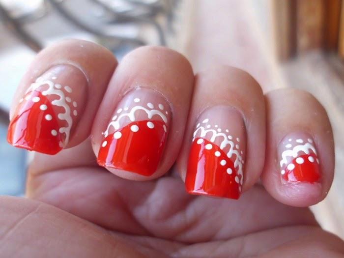 manicuras rojas