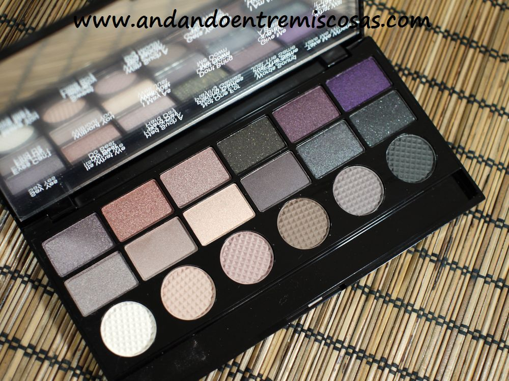 Paleta Hard Day de Makeup Revolution