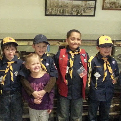 Museum Toured by Pack 188 Wolf Den of Farmington