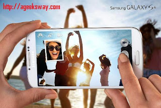 Samsung Galaxy S4 Features : Dual Shot