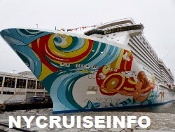 Norwegian Cruise Line's Norwegian Getaway Arrives In New York for Superbowl Festivities