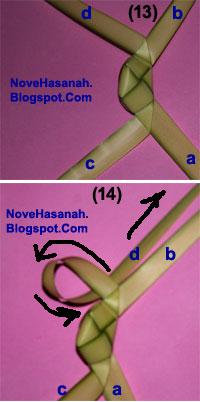 Cara Membuat Kepiting dari Daun Kelapa (Janur) 15