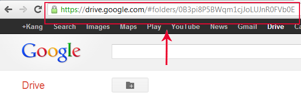 create folder on google drive