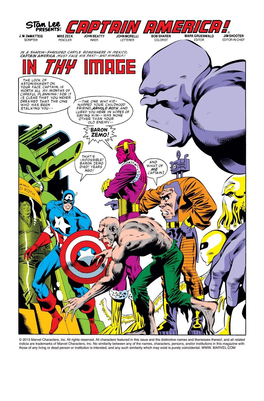 Captain America (1968) Issue #277 #193 - English 2