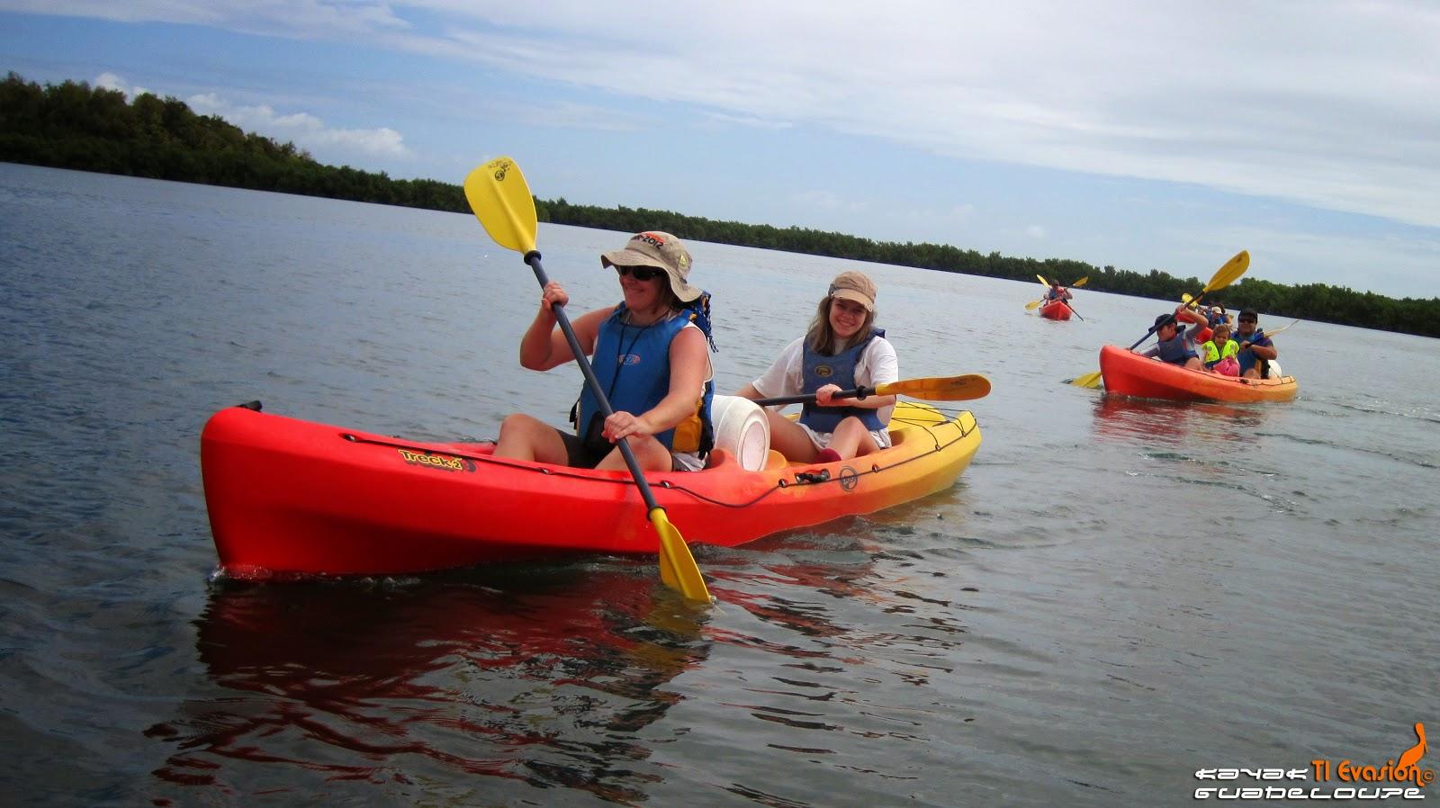 ti-evasion kayak guadeloupe
