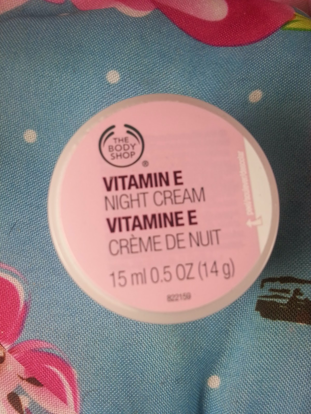 The Body Shop - Vitamin Nourishing Night Cream - www.annitschkasblog.de