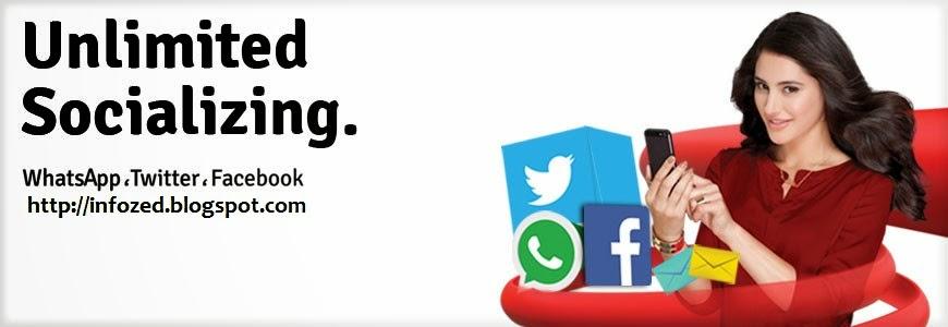 Facebook, Free Facebook, Jazz, Mobilink, Social Bundle, Twitter, WhatsApp