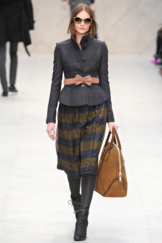 Burberry Prorsum, London Fashion Week 2013