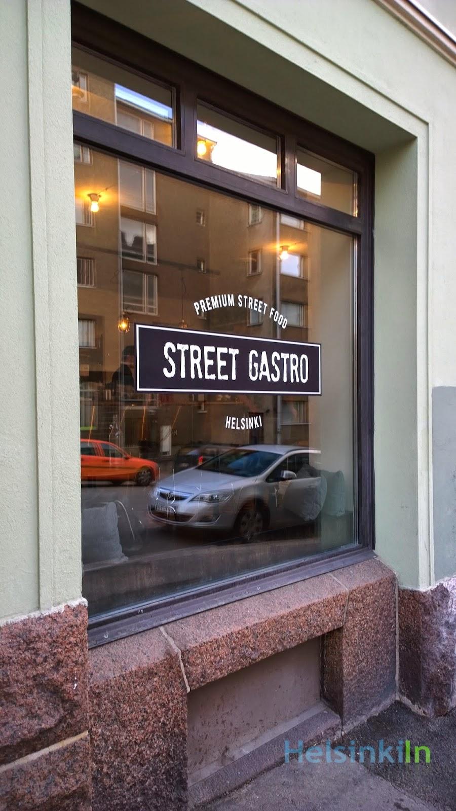 StreetGastro on Vaasankatu