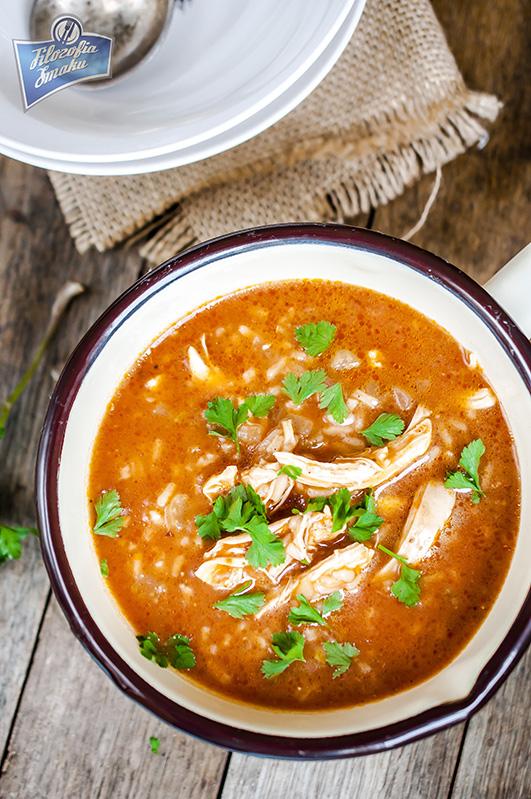 Zupa z kurczakiem przepis