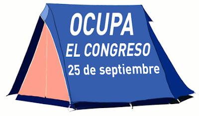 25-S Ocupa el congreso