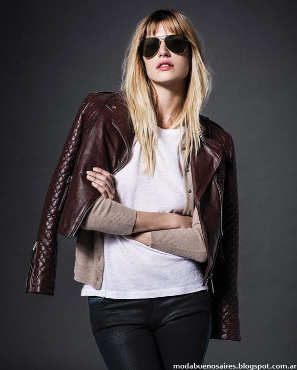 Etiqueta Negra camperas de cuero Moda otoño invierno 2014 Argentina
