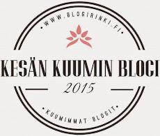 Äänestä kesän kuuminta blogia!!