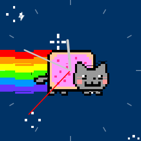 nyan cat watchface