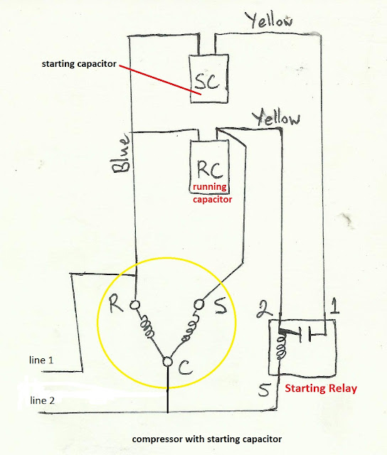 Refrigeration Compressor Wiring Diagram Wiring Library Inswebco