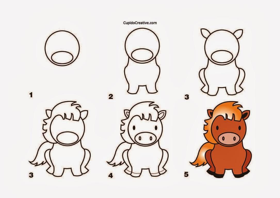 ... lembar aktivitas berikut berisi cara langkah langkah menggambar kuda