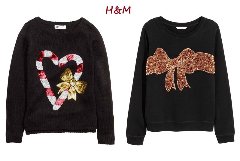 swetry świąteczne hm