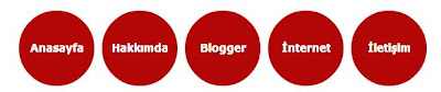 blogger css ile menu olusturma