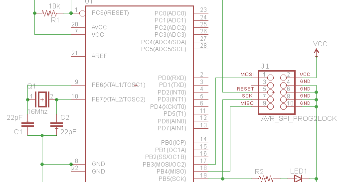 Atmega328P PU Microcontroller without boot loader