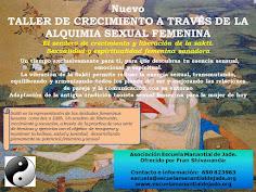 TALLER LA ALQUIMIA SEXUAL FEMENINA DE LAS TIGRESAS BLANCAS