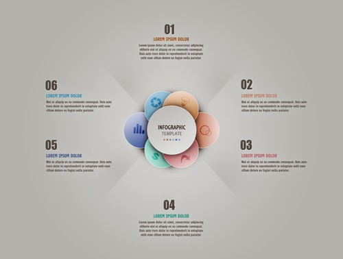 Photoshop Tutorial Graphic Design | Infographic Abstract Round