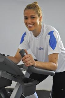 Spa Med Sorocaba Campus recebeu a atleta Érika Coimbra