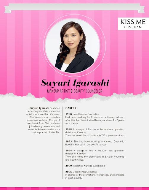 Sayuri Igarashi | Makeup Artist Kiss Me Heroine Make