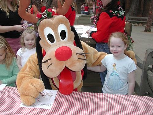 Reindeer Round Up Disneyland Pluto