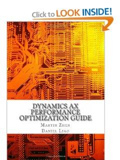 http://www.amazon.com/Dynamics-Performance-Optimization-Guide-Microsoft/dp/1481100750/ref=sr_1_1?ie=UTF8&qid=1366372545&sr=8-1&keywords=dynamics+ax+performance+optimization+guide
