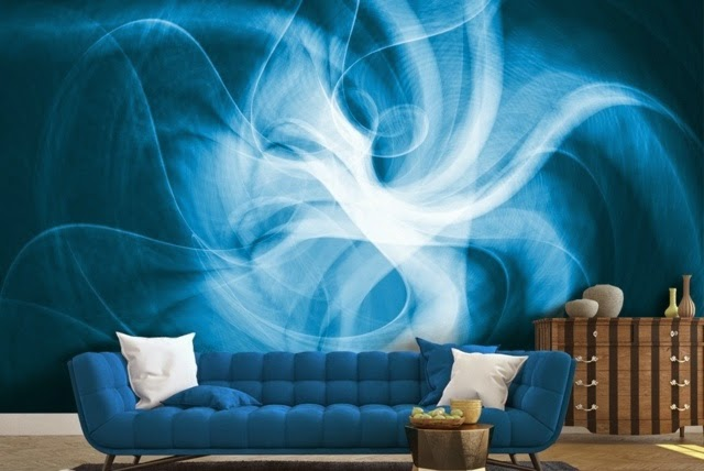 Amazing Blue Wall Sticker