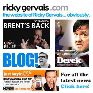 Visit RickyGervais.com