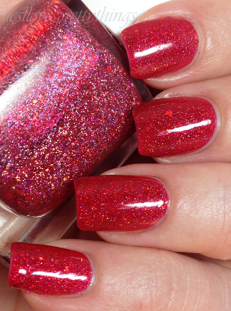 Glam Polish Cast A Spell Coven swatch and review
