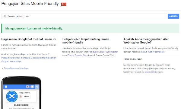 Situs Penguji Mobile-Friendly untuk SEO Google Adsense