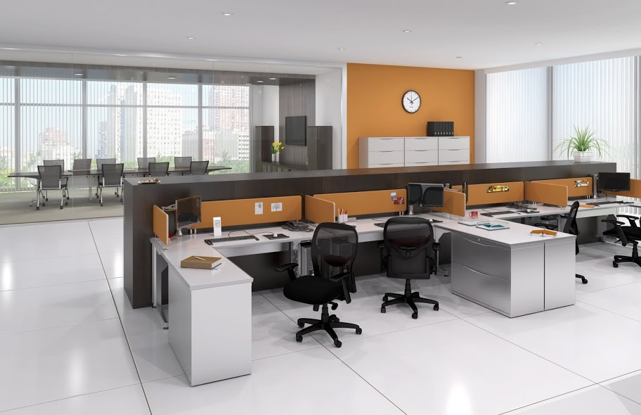 The Office Furniture Blog At Officeanything: Modular Business