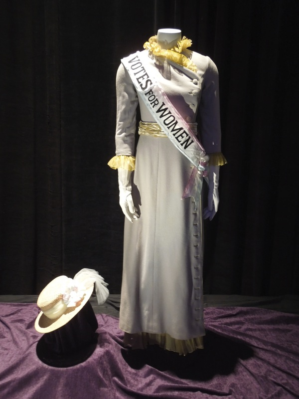 Mrs Winifred Banks Suffragette costume Mary Poppins