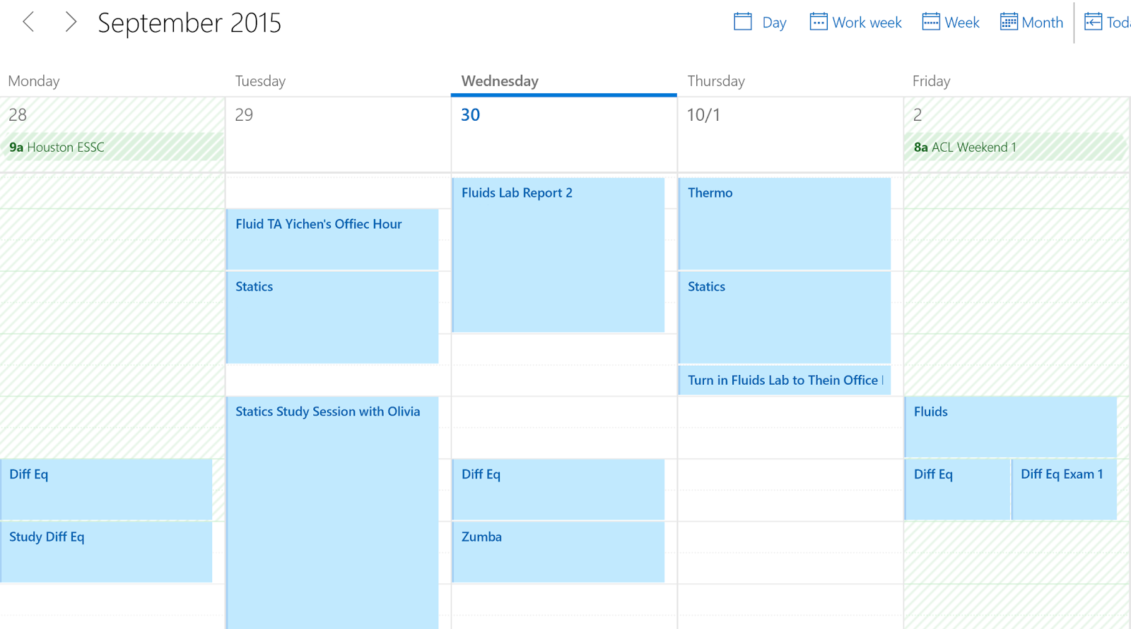 windows 10 google calendar schedule