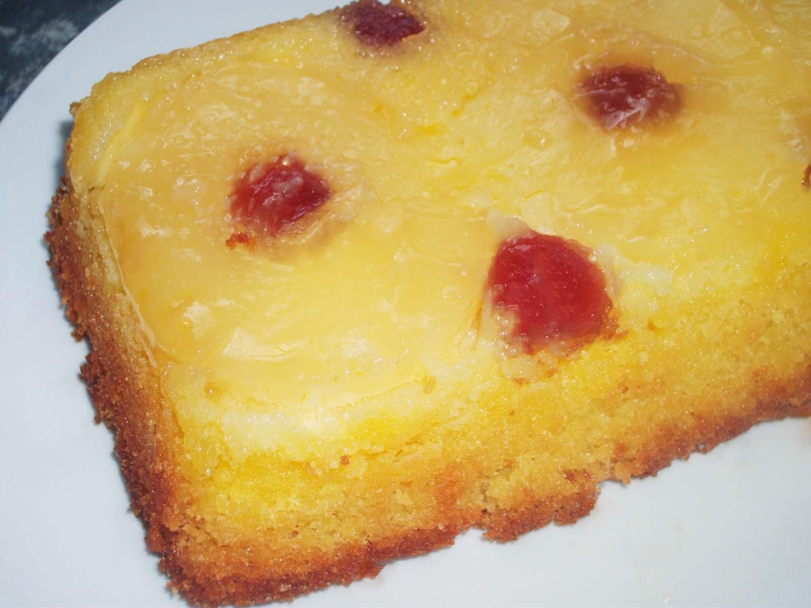 Gluten free Pineapple Upside-down Cake