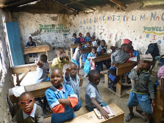 A picture of some of the children I taught
