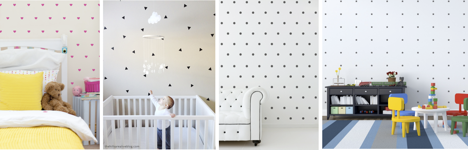 Delightful ... Iu0027ve Teamed Up With Urban Walls To Give Away One Decal Set Of The Mini  Hearts, Mini Polkadots, Mini Stars, Or Mini Triangles Of The Winneru0027s  Choice! Part 17