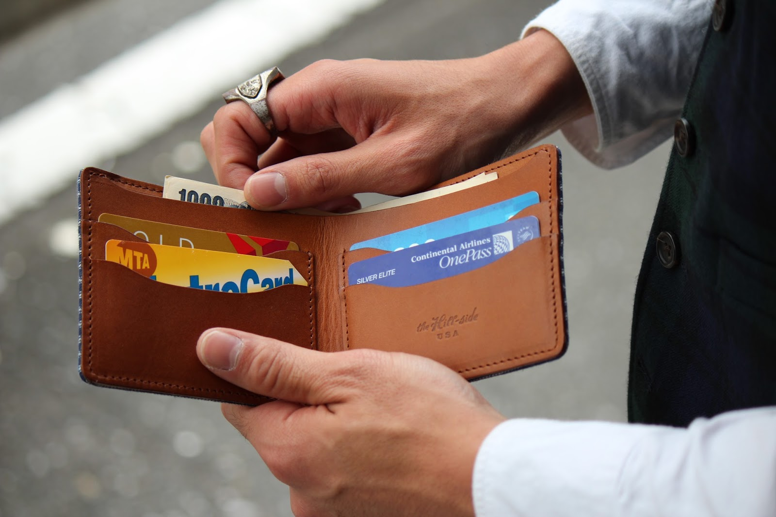 The Hillside wallet madeinusa ヒルサイド 財布